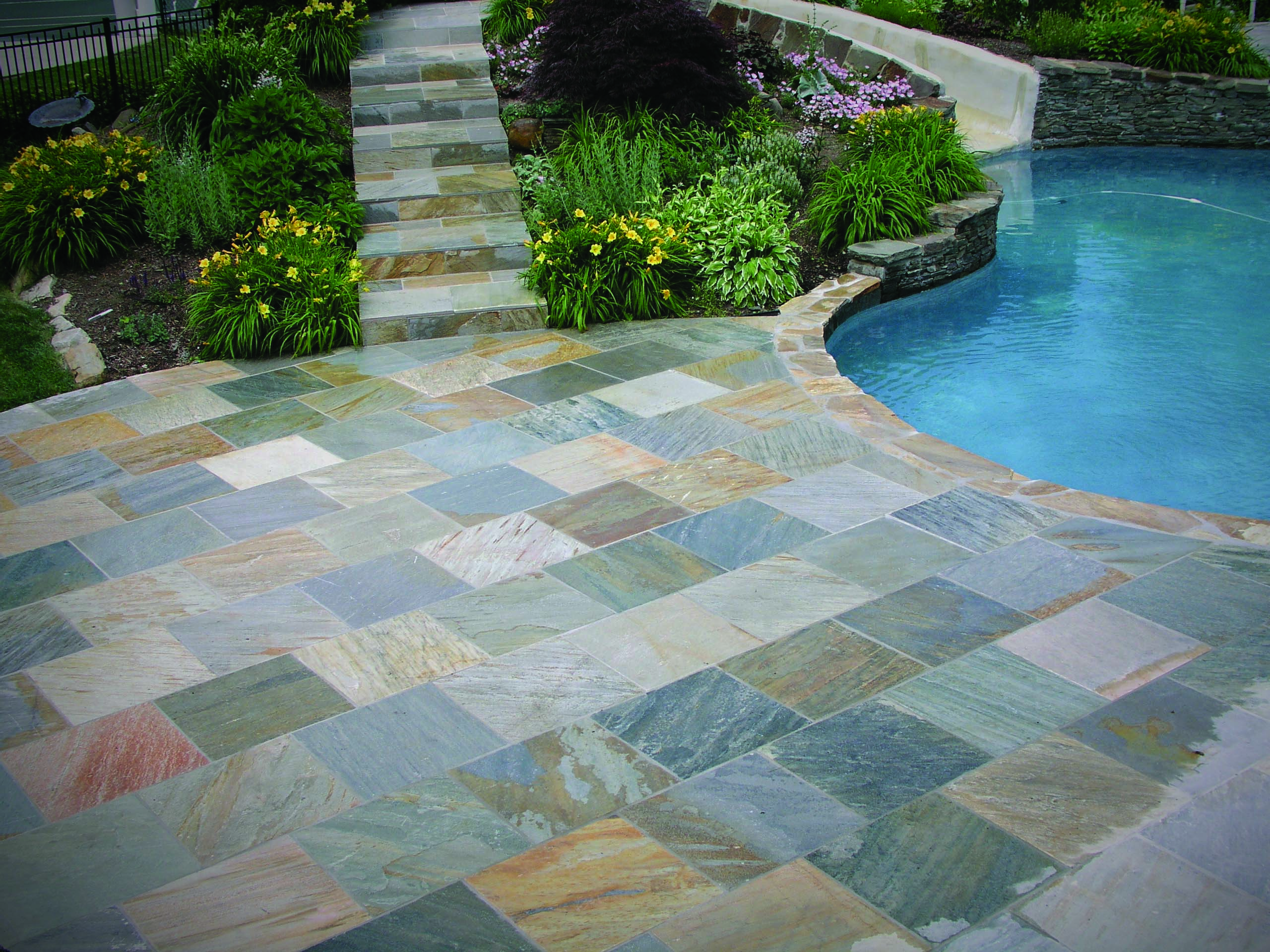 Natural stone sales denver slate thin slate 3 popular uses for denver slate tile dailygadgetfo Choice Image